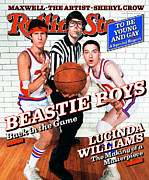 Covers Prints - Rolling Stone Cover - Volume #792 - 8/6/1998 - Beastie Boys Print by Mark Seliger
