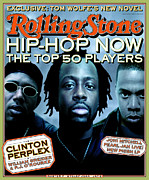 Hip Framed Prints - Rolling Stone Cover - Volume #798 - 10/29/1998 - Hip Hop Now Framed Print by Matt Mahurin