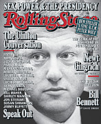 President Photo Prints - Rolling Stone Cover - Volume #799 - 11/12/1998 - President Clinton Print by Mark Seliger