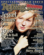 Jewel Framed Prints - Rolling Stone Cover - Volume #802 - 12/24/1998 - Jewel Framed Print by David LaChapelle