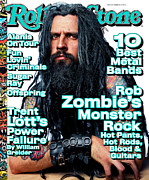 Featured Prints - Rolling Stone Cover - Volume #805 - 2/4/1999 - Rob Zombie Print by Mark Seliger