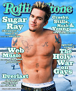 Mark Art - Rolling Stone Cover - Volume #808 - 3/18/1999 - Mark McGrath by Mark Seliger