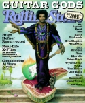 Rolling Stone Metal Prints - Rolling Stone Cover - Volume #809 - 4/1/1999 - Jimi Hendrix Metal Print by Mark Ryden