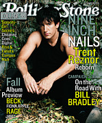 Trent Prints - Rolling Stone Cover - Volume #823 - 10/14/1999 - Trent Reznor Print by Mark Seliger