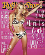 Mariah Carey Prints - Rolling Stone Cover - Volume #834 - 2/17/2000 - Mariah Carey Print by David LaChapelle