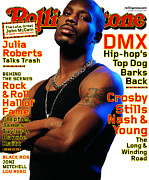 Covers Prints - Rolling Stone Cover - Volume #838 - 4/13/2000 - DMX Print by Albert Watson