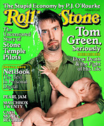 Tom Framed Prints - Rolling Stone Cover - Volume #842 - 6/8/2000 - Tom Green Framed Print by Mark Seliger