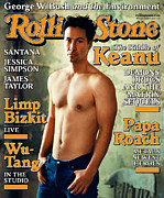 Reeves Prints - Rolling Stone Cover - Volume #848 - 8/31/2000 - Keanu Reeves Print by Mark Seliger