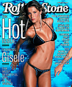 Featured Art - Rolling Stone Cover - Volume #849 - 9/14/2000 - Gisele by Mark Seliger