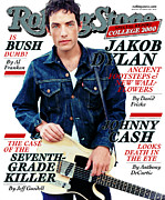 Dylan Metal Prints - Rolling Stone Cover - Volume #852 - 10/26/2000 - Jacob Dylan Metal Print by Mark Seliger