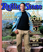 Gore Framed Prints - Rolling Stone Cover - Volume #853 - 11/9/2000 - Al Gore Framed Print by Mark Seliger