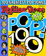 Pop Photos - Rolling Stone Cover - Volume #855 - 12/7/2000 - Pop 100 by Ward Sutton