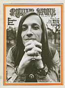 Featured Framed Prints - Rolling Stone Cover - Volume #86 - 7/8/1971 - Doug Sahm Framed Print by Baron Wolman