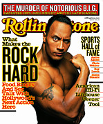 "The Rock Prints - Rolling Stone Cover - Volume #870 - 6/7/2001 - Dwayne ""The Rock"" Johnson Print by Mark Seliger"