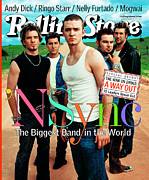 Rock N Roll Posters - Rolling Stone Cover - Volume #875 - 8/16/2001 - N Sync Poster by Mark Seliger