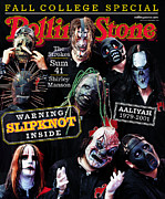 Rollingstone Posters - Rolling Stone Cover - Volume #879 - 10/11/2001 - Slipknot Poster by Martin Schoeller