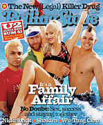 Roll Framed Prints - Rolling Stone Cover - Volume #888 - 1/31/2002 - No Doubt Framed Print by David LaChapelle
