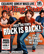 Rollingstone Posters - Rolling Stone Cover - Volume #905 - 9/19/2002 - The Vines Poster by Martin Schoeller