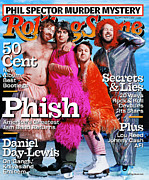 Roll Framed Prints - Rolling Stone Cover - Volume #917 - 3/6/2003 - Phish Framed Print by Martin Schoeller