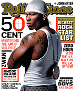 Featured Prints - Rolling Stone Cover - Volume #919 - 4/3/2003 - 50 Cent Print by Albert Watson