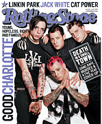 Charlotte Metal Prints - Rolling Stone Cover - Volume #921 - 5/1/2003 - Good Charlotte Metal Print by David LaChapelle