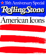 American Metal Prints - Rolling Stone Cover - Volume #922 - 5/15/2003 - American Icons Metal Print by Andy Cowles