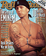 Featured Art - Rolling Stone Cover - Volume #927 - 7/24/2003 - Eminem by Roberto Parada