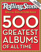 Greatest Metal Prints - Rolling Stone Cover - Volume #937 - 12/11/2003 - 500 Greatest Albums of All-Time Metal Print by Andy Cowles