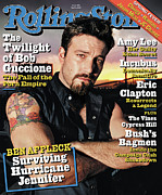 Actors Photo Prints - Rolling Stone Cover - Volume #945 - 4/1/2004 - Ben Affleck Print by David LaChapelle