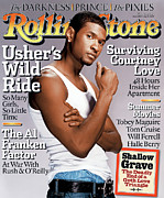 Covers Art - Rolling Stone Cover - Volume #948 - 5/13/2004 - Usher by Martin Schoeller