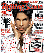 Featured Acrylic Prints - Rolling Stone Cover - Volume #949 - 5/27/2004 - Prince Acrylic Print by Albert Watson