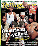 Roll Framed Prints - Rolling Stone Cover - Volume #950 - 6/10/2004 - Eminem Framed Print by Martin Schoeller