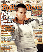 Actors Photo Prints - Rolling Stone Cover - Volume #956 - 9/2/2004 - Tom Cruise Print by Tony Duran
