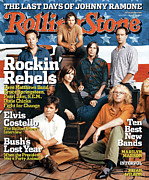 Rock N Roll Posters - Rolling Stone Cover - Volume #959 - 10/14/2004 - Voices for Change Poster by Norman Jean Roy