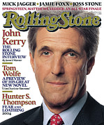 John Photo Framed Prints - Rolling Stone Cover - Volume #961 - 11/11/2004 - John Kerry Framed Print by Albert Watson