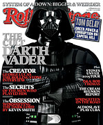 Darth Framed Prints - Rolling Stone Cover - Volume #975 - 6/2/2005 - Darth Vader Framed Print by Albert Watson