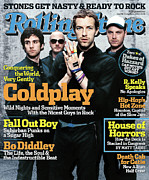 Rolling Stone Art - Rolling Stone Cover - Volume #981 - 8/25/2005 - Coldplay by Anton Corbijn