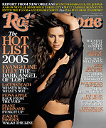 Lilly Posters - Rolling Stone Cover - Volume #984 - 10/6/2005 - Evangeline Lilly Poster by Tony Duran
