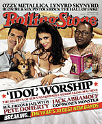 American Idol Posters - Rolling Stone Cover - Volume #997 - 4/6/2006 - American Idol Judges Poster by Michael Elins