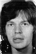 Mick Jagger Photos - Rolling Stones 2 by Andrew Fare