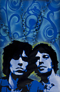 Celebrities Framed Prints - Rolling Stones Framed Print by Iosua Tai Taeoalii