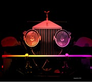 Rolls Royce Digital Art - Rolls Royce Smile by George Pedro