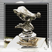 Rolls Royce Digital Art - Rolls Royce Spirit in the Wind -METAL PRINT RECOMMENDED by Curt Johnson