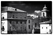 And Posters Prints - Roma Roof Tops Print by John Rizzuto