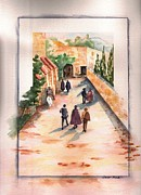 Citizens Prints - Roman Avenue Print by Sharon Mick