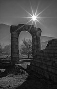 Historic Ruins Photos - Roman Carsulae by Michael Avory