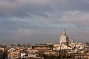 Place Of Worship Photos - Roman Cityscape With Basilica by Nico De Pasquale Photography
