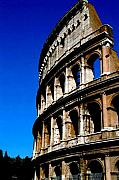 Roman Coliseum By Day Print by Alberta Brown Buller
