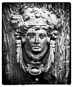 Roman Door Knocker Print by John Rizzuto