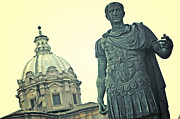 Statue Photo Prints - Roman Emperor Print by Joana Kruse